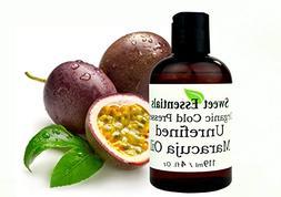 100% Pure Organic Cold Pressed Unrefined Virgin Maracuja Oil