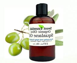 100% Pure Organic Squalane Oil - 8oz With Pump - Imported Fr