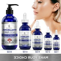 100% Pure HYALURONIC ACID Plumps Wrinkles Hydration Anti Agi