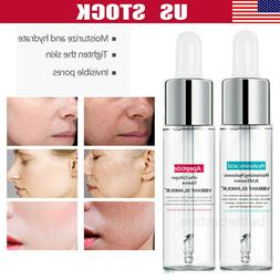 15ml Hyaluronic Acid Shrink Pore Face Serum Anti-Aging Moist