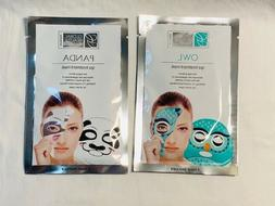 2 animated spa treatment face masks anti