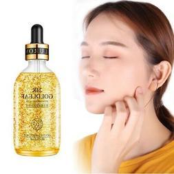 24K Gold Face Serum Anti Aging Hyaluronic Acid Skin Care wri