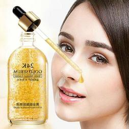 24k Gold Facial Skin Care Anti wrinkle Anti-Aging Face Essen