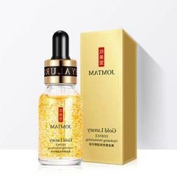 24K Gold Luxury Face Lift Serum Moisturizer Whitening Essenc