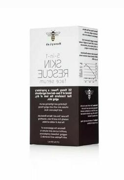 HoneyLab 5-in-1 Skin Rescue Face Serum for Dry & Aging Skin