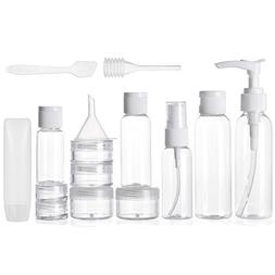 ALINK Travel Size Toiletry Bottles Set, TSA Approved Clear C