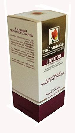 Absolute Care Professional Treatment Retinol Vitamin A & E F
