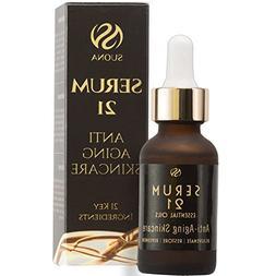 Anti Aging Face Serum Moisturizer - Advanced Natural Skin Ca