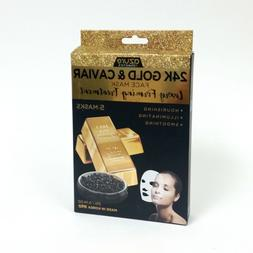 Azure Kosmetics 24K Gold & Caviar Luxury Firming Treatment F