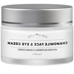 Calily Life Chamomile Face Cream for Face and Eye with Dead