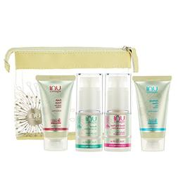Certified Organic Skin Care Set – Facial Cleanser – Exfo