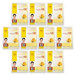 Dermal Korea Collagen Essence Full Face Facial Mask Sheet -