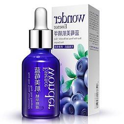 Face Essential Serum, Spdoo Blueberry Hyaluronic Acid Liquid