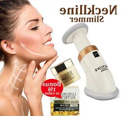 Get Rid Of Turkey Neck And Double Chin With Neckline Slimmer