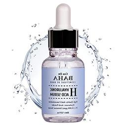 Hyaluronic Acid Serum for Face by CosDeBAHA, Clinique Face M