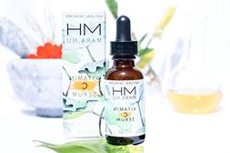 MaraHu Natural Skincare Vitamin C Serum with Hyaluronic Acid