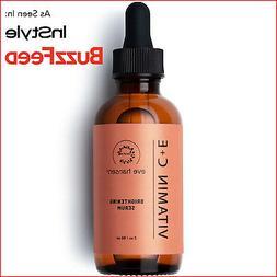 Natural Vitamin C Serum for Face - Hyaluronic Acid, Vitamin