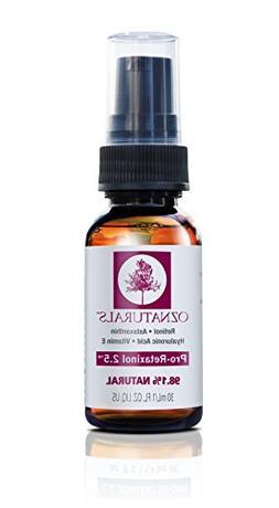 OZNaturals Anti Aging Retinol Serum -The Most Effective Anti