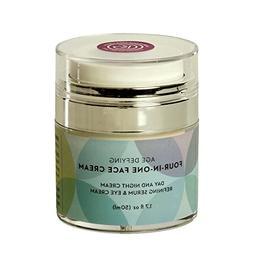 Organic Face Cream-Refining face serum, Eye Cream, Day & Nig