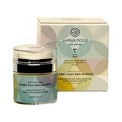 Organic moisturizer - Refining Face Serum, Eye Cream, Day &