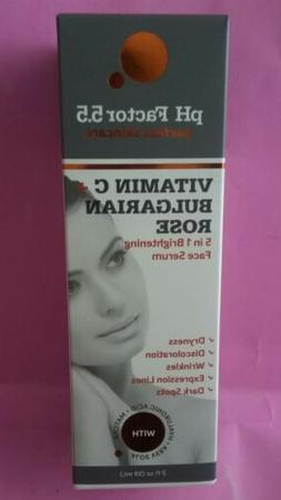 PH Factor 5.5 Vitamin C Serum for face w/Bulgarian Rose, Mat