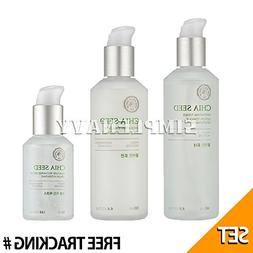THE FACE SHOP Chia Seed Hydrating Toner 145ml+Lotion 130ml+M