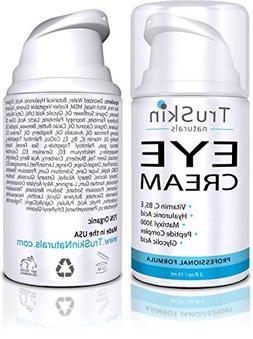 TruSkin Naturals Eye Cream - Anti-Aging Formula Hydrates, Pr