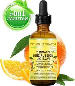 VITAMIN C Moisturizing Face Oil. 20% Vitamin C Red Raspberry