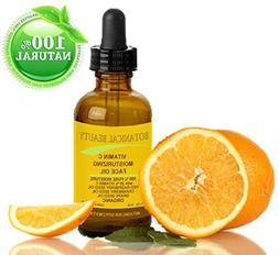 VITAMIN C Moisturizing Face Oil ORGANIC. 100% PURE MOISTURE