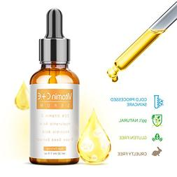 Vitamin C Serum for Face with Hyaluronic Acid and Vitamin E