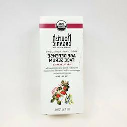 Nourish Organic Age Defense Face Serum For Dry Skin, 0.7 Oun