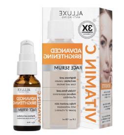 Alluxe Clinicals Advanced Brightening Vitamin C Face Serum 1