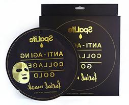 Spa Life Anti Aging Collagen Gold Facial mask 3 Treatment