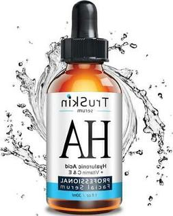 TruSkin BEST Hyaluronic Acid Serum for Skin & Face with Vita