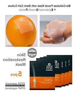 Biocellulose Stem Cell Face Mask with Epidermal Growth Facto