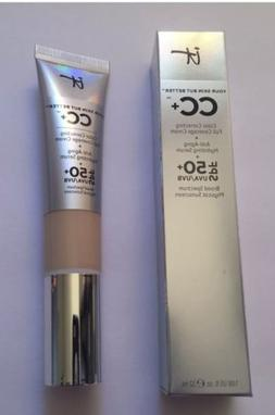 IT Cosmetics CC+ COLOR CORRECTING FULL COVERAGE CREAM + SERU