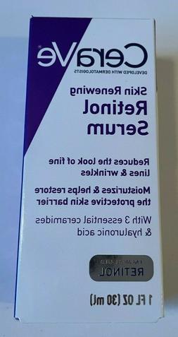 CeraVe Skin Renewing Retinol Face Cream Serum Fine Lines and