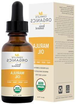 Organic Marula Oil - 100% Pure, Non GMO, Cold Pressed, Unref
