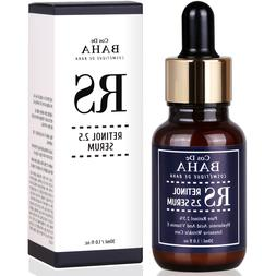 Vitamin A Retinol 2.5% Facial Serum Anti Aging Wrinkles Acne