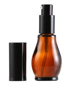 2PCS 30ml 1oz Empty Glass Airless Vacuum Lotion Emulsion Dis