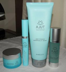 Tula Face Cleanser, Power Liquid, Day & Night Cream, & Eye R