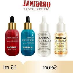 Face Serum 24K Gold Hyaluronic Acid Vitamin C Silk Skin Firm