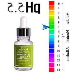 Facial Serum Niacinamide 10% Zinc 1% Acne Face Pores Minimiz