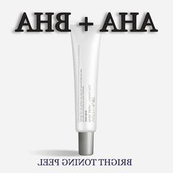 Glycolic Acid AHA Salicylic Acid BHA Toning Peel Face Serum