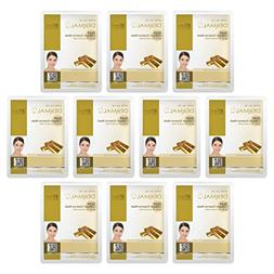 DERMAL Gold Collagen Essence Facial Mask Sheet 23g Pack of 1