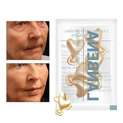 Tfan 5 Grain/Set 24K Gold Peptide Wrinkles Face Ampoule Caps