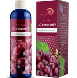 100% Pure Grapeseed Oil For Skin Face And Hair Natural Vitam