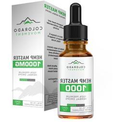 hemp oil drops seed extract