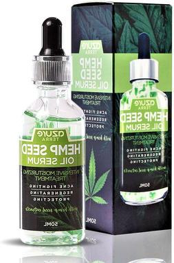 Hemp Seed Moisturizing Oil Serum – Fights Acne | Wrinkle,