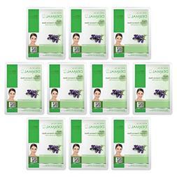 DERMAL Herb Collagen Essence Full Face Facial Mask Sheet 23g
